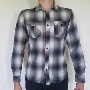O'Neill Long sleeve flannel button up shirt